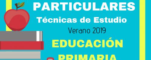 Clases particulares Verano 2019